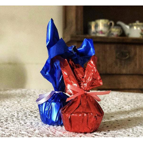 """Конфета """"Голубой дунай"""" в белом шоколаде"""
