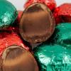 Шоколадные яйца с пастильной начинкой